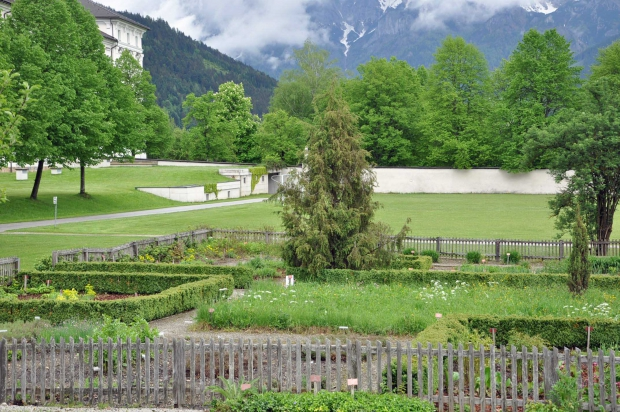 Stift Admont und der Klostergarten